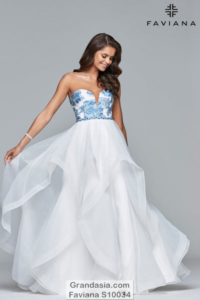 Faviana S10034 Prom Dress