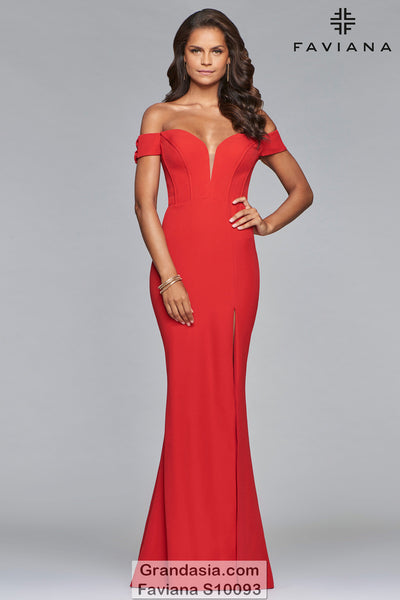 Faviana S10093 Prom Dress