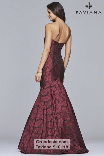 Faviana Glamour S10118 Prom Dress