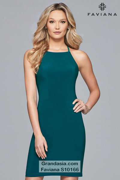 Faviana Glamour S10166 Cocktail Dress