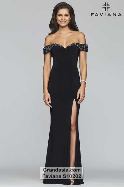 Faviana Glamour S10202 Prom Dress