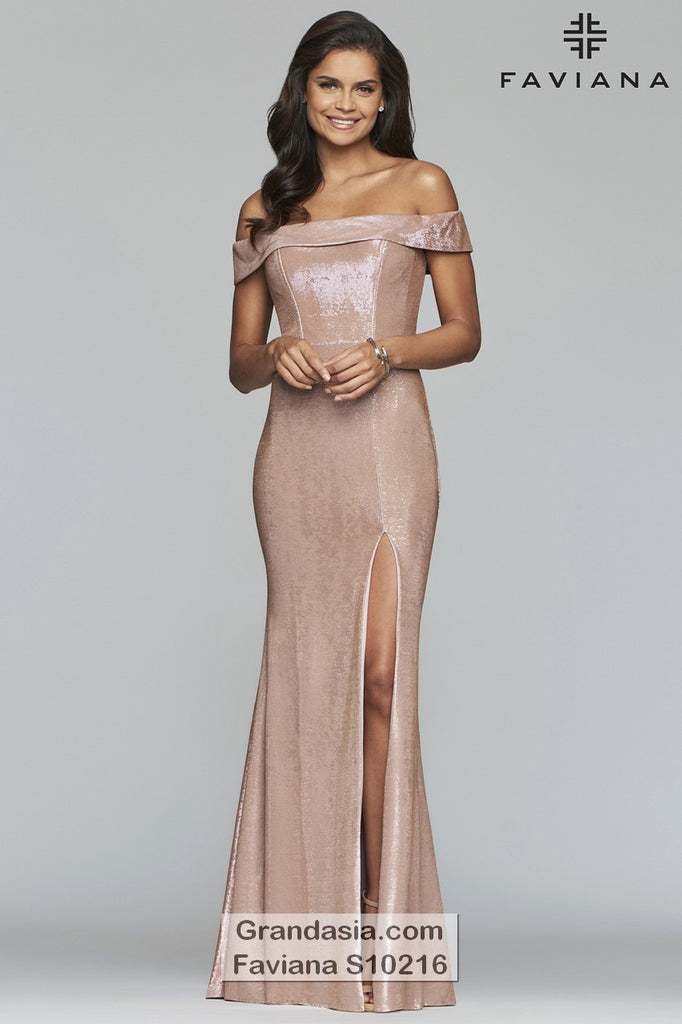 Faviana Glamour S10216 Prom Dress