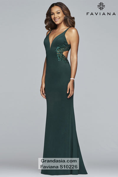 Faviana Glamour S10226 Prom Dress