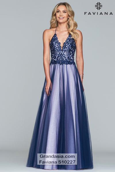 Faviana Glamour S10227 Prom Dress
