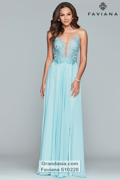 Faviana Glamour S10228 Prom Dress