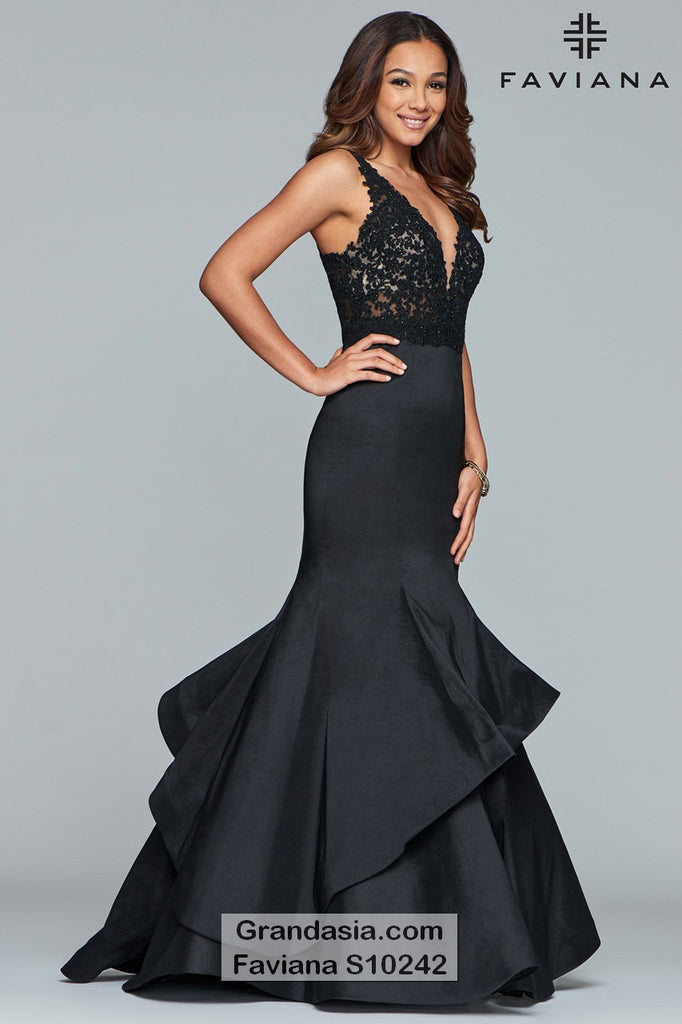 Faviana Glamour S10242/E Prom Dress