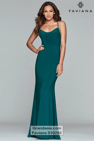 Faviana Glamour S10268 Prom Dress