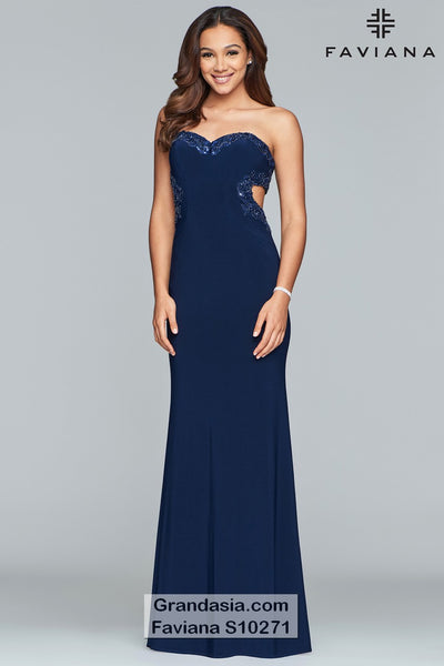 Faviana Glamour S10271 Prom Dress