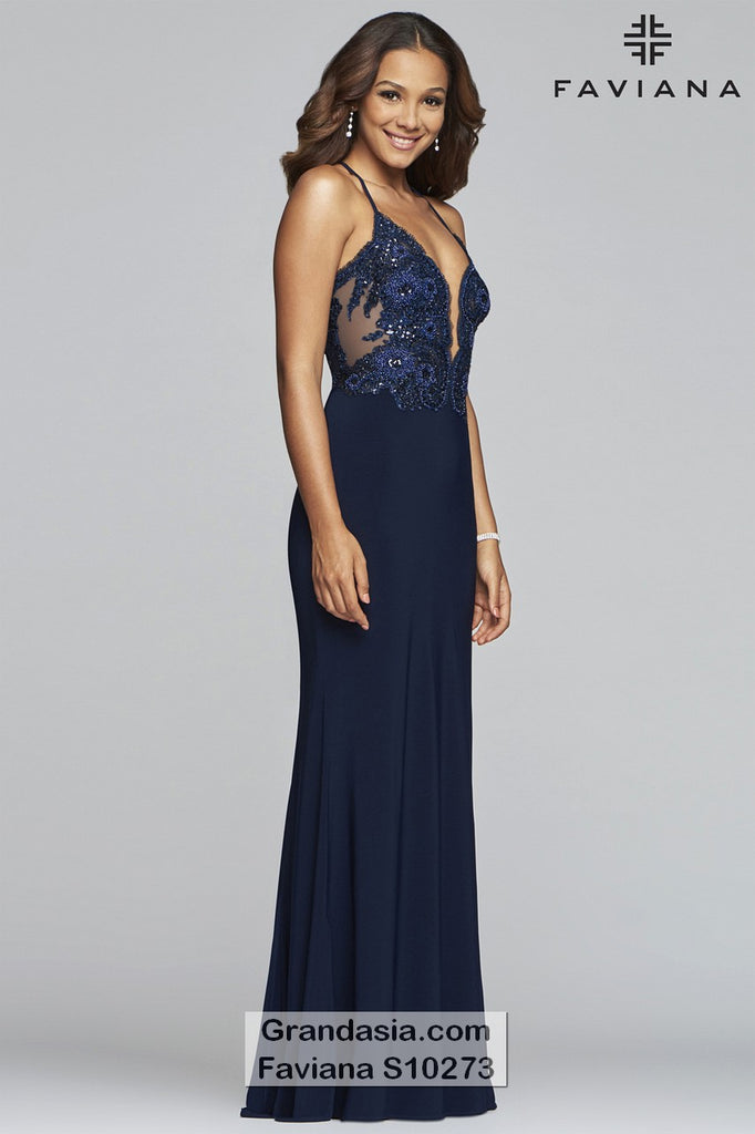 Faviana Glamour S10273 Prom Dress