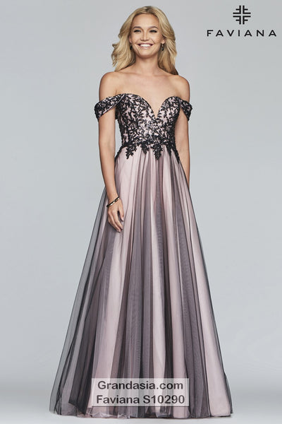 Faviana Glamour S10290 Prom Dress