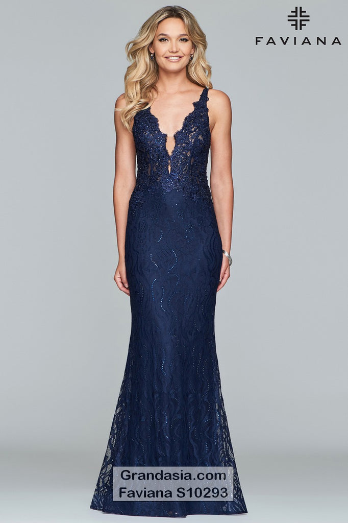 Faviana Glamour S10293 Prom Dress