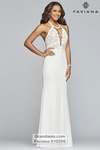 Faviana Glamour S10296 Prom Dress