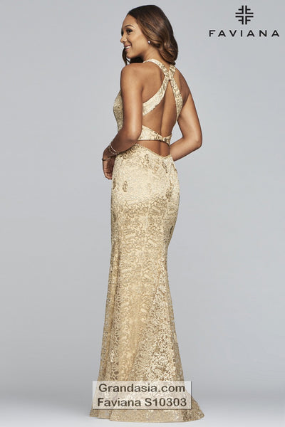 Faviana Glamour S10303 Prom Dress