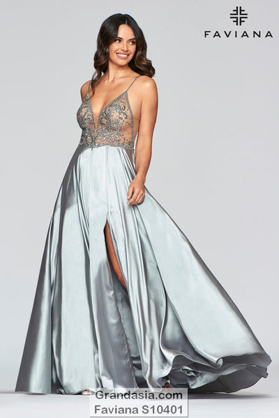 Faviana Glamour S10401 Prom Dress