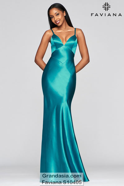 Faviana Glamour S10405 Prom Dress