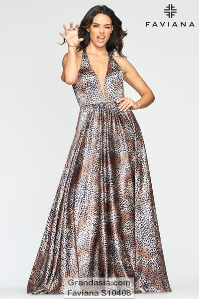 Faviana Glamour S10408 Prom Dress