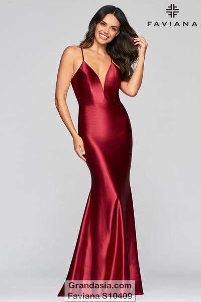 Faviana Glamour S10409 Prom Dress