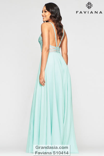 Faviana Glamour S10414 Prom Dress