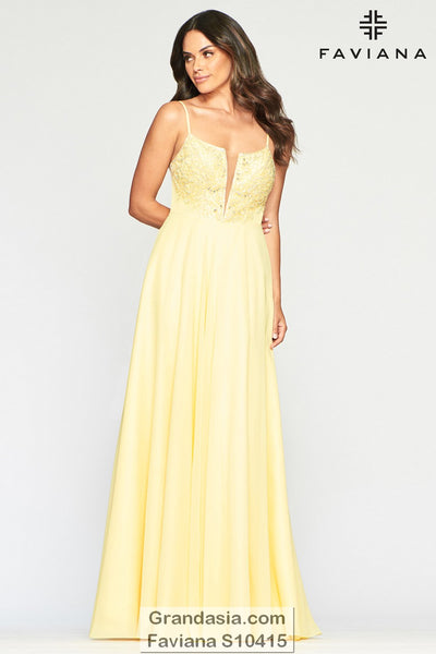 Faviana Glamour S10415 Prom Dress