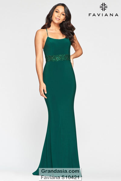 Faviana Glamour S10421 Prom Dress