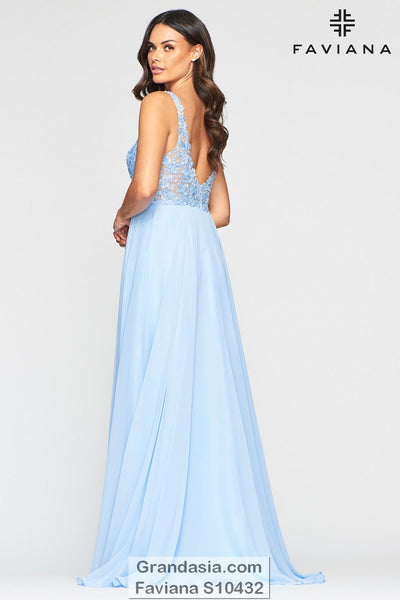 Faviana Glamour S10432 Prom Dress