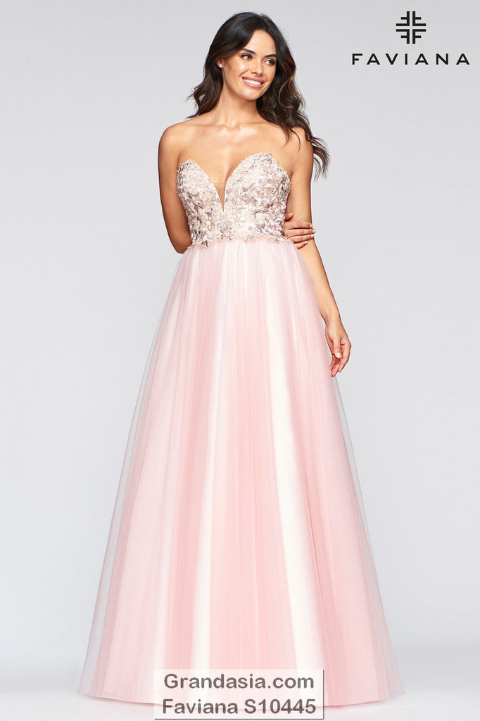 Faviana Glamour S10445 Prom Dress
