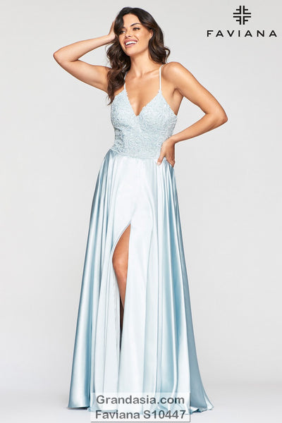 Faviana Glamour S10447 Prom Dress