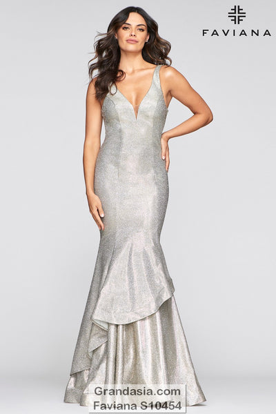 Faviana Glamour S10454 Prom Dress