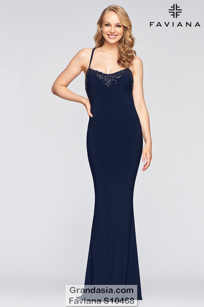 Faviana Glamour S10468 Prom Dress