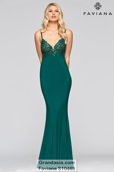 Faviana Glamour S10469 Prom Dress
