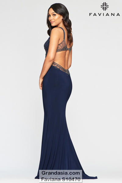 Faviana Glamour S10470 Prom Dress