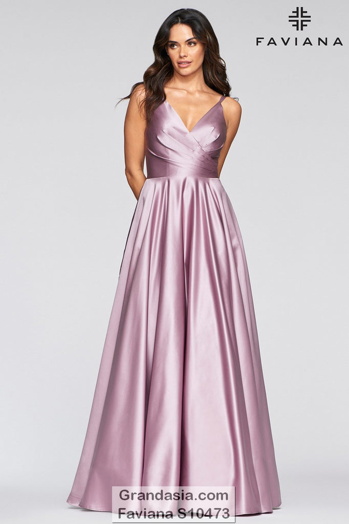 Faviana Glamour S10473 Prom Dress