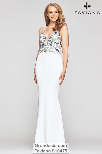 Faviana Glamour S10475 Prom Dress