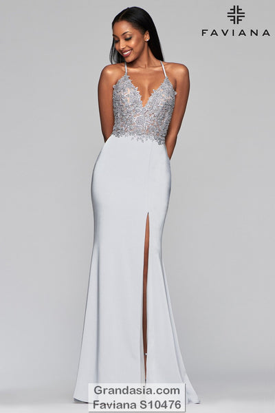 Faviana Glamour S10476 Prom Dress