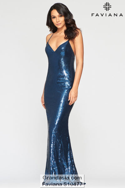 Faviana Glamour S10477 Prom Dress