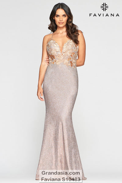 Faviana Glamour S10483 Prom Dress