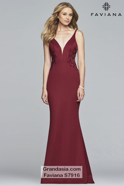 Faviana Glamour S7916 Prom Dress
