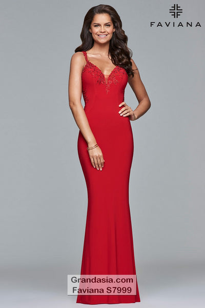 Faviana Glamour S7999 Prom Dress