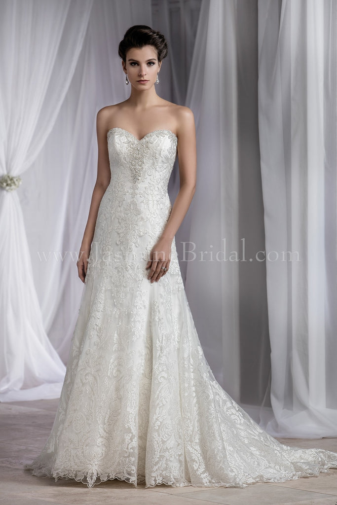 Jasmine Couture T182059 Bridal Gown