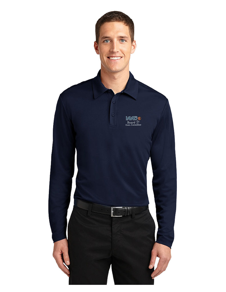 Long Sleeve IAABO Polo