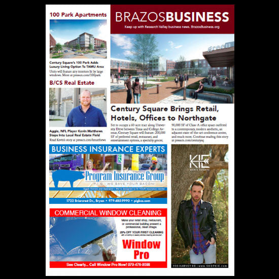 Sixth Page Ad in Brazos Business