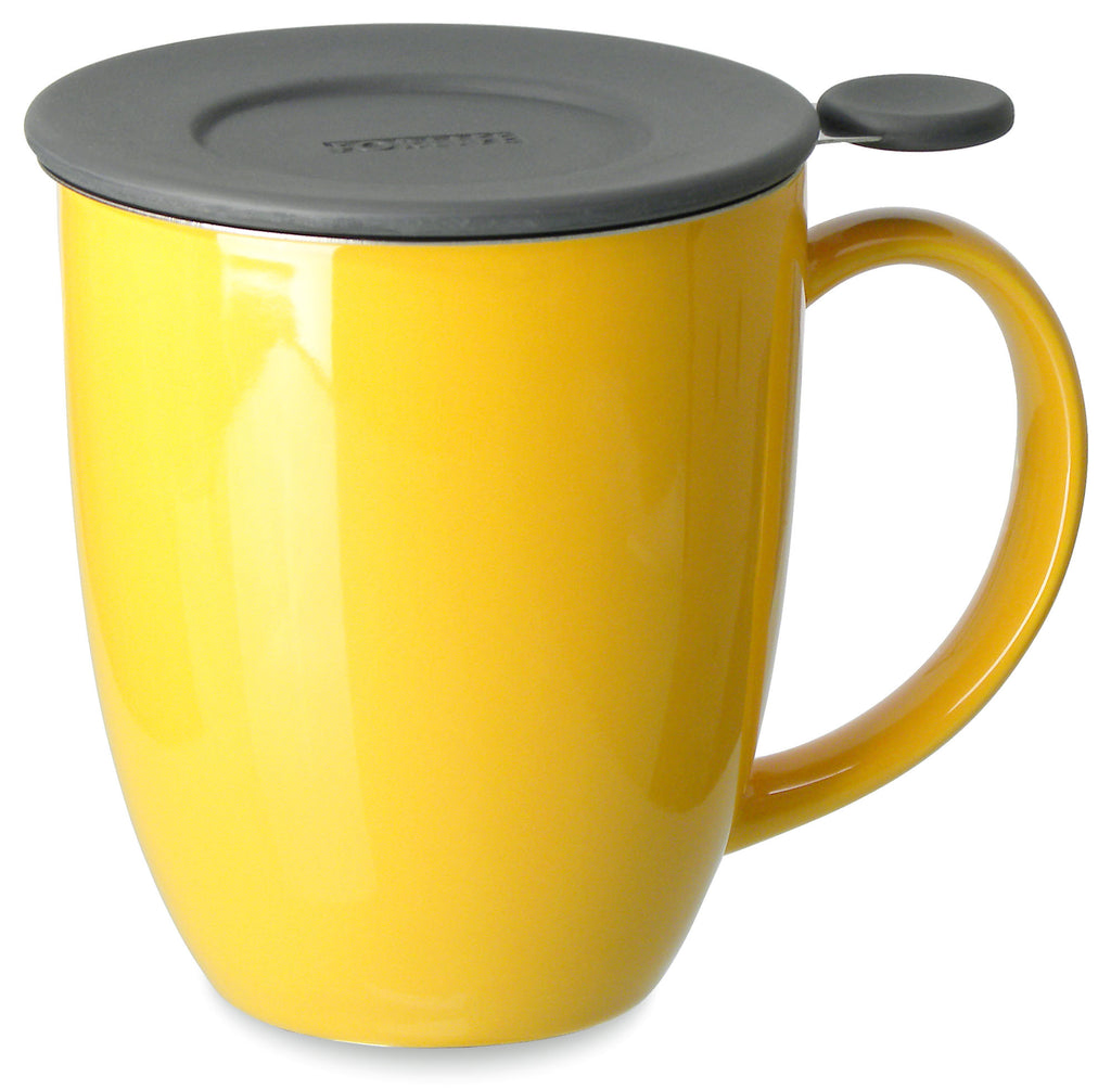 Uni Brew-in-Mug with Infuser (various colors) - Indigo Tea Co.