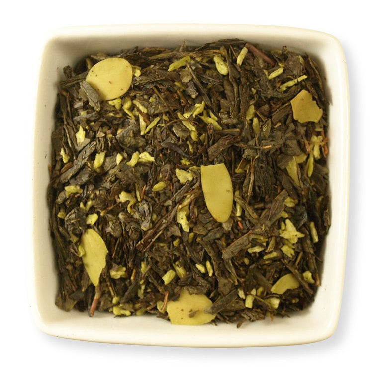 Almond Green Tea - Indigo Tea Co.