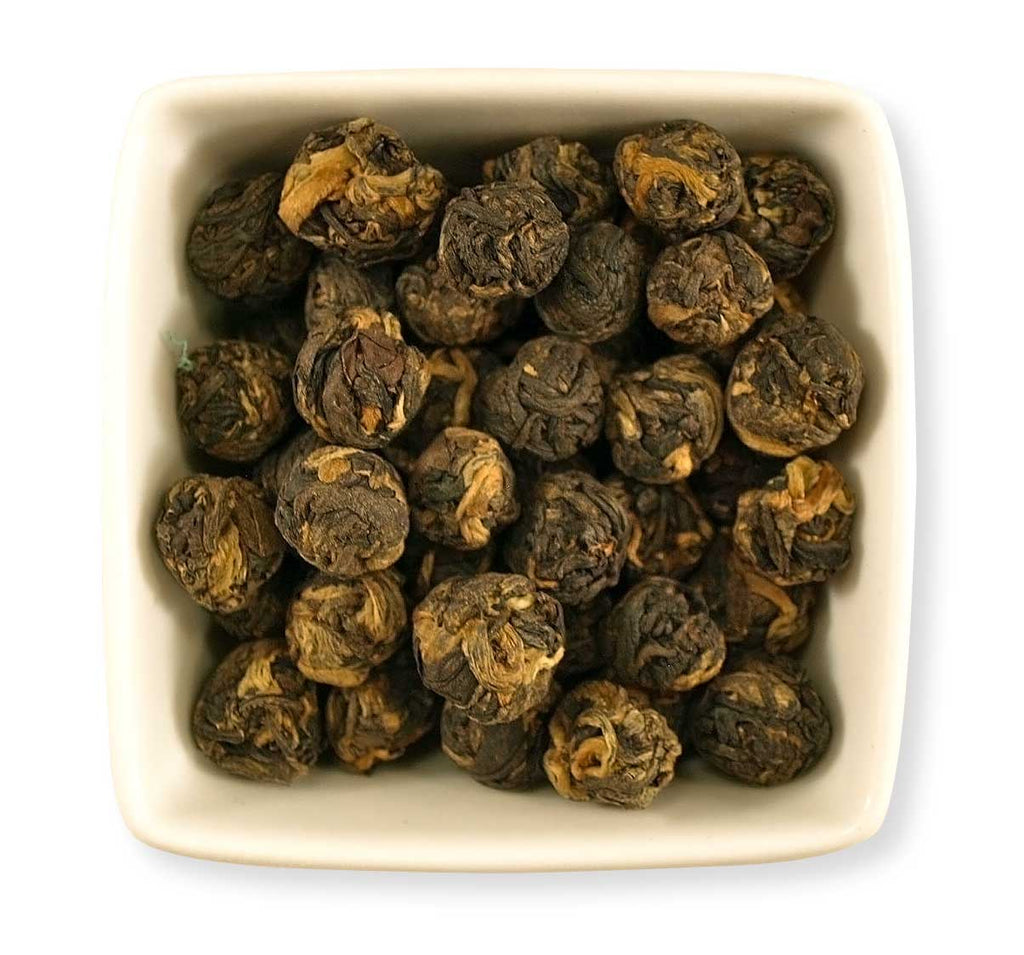 Black Dragon Pearls - Indigo Tea Co.