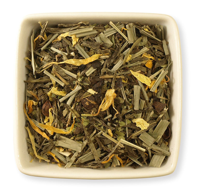 Decaf Lemon Green Tea - Indigo Tea Co.