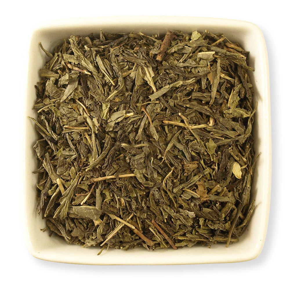 Decaf Mint Green Tea - Indigo Tea Co.