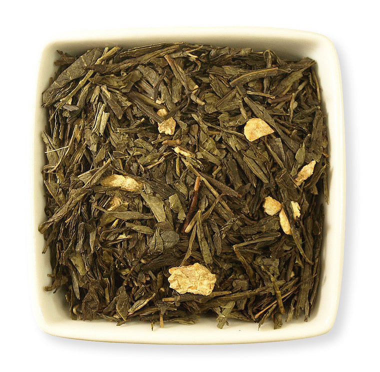 Honey Ginger Green Tea - Indigo Tea Co.