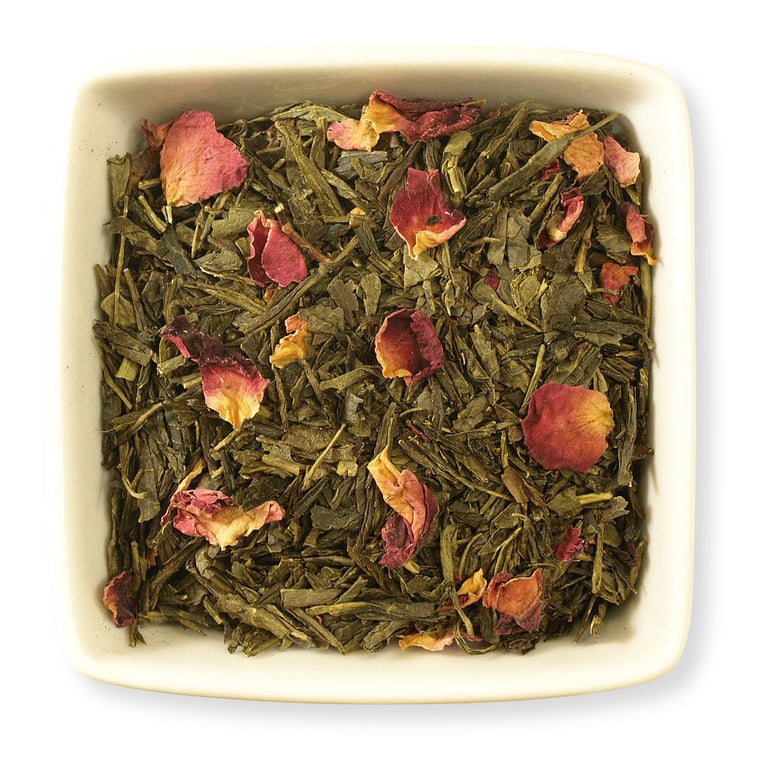 Japanese Cherry Green Tea - Indigo Tea Co.