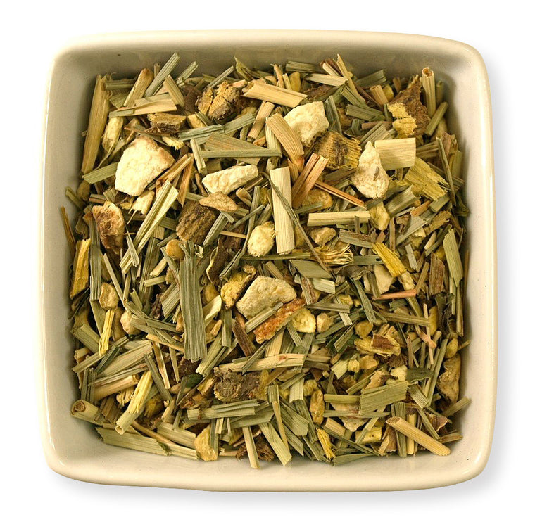 Lemon Ginger Herbal Blend - Indigo Tea Co.
