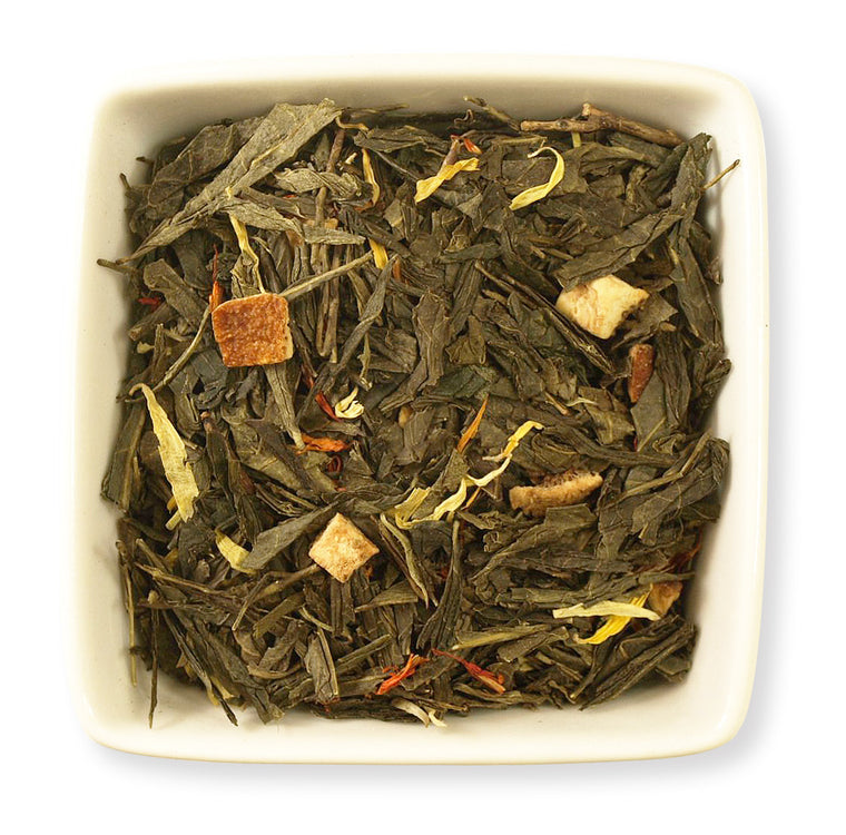 Mandarin Orange Green Tea - Indigo Tea Co.